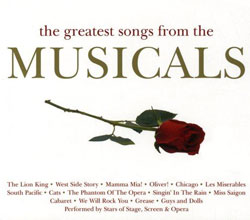 musicals backing tracks